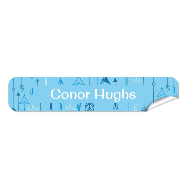 Mini Name Labels 76pk - Arrow