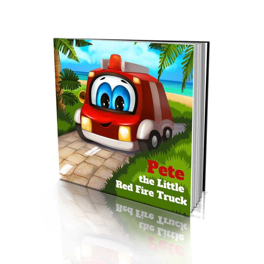 Large Soft Cover Story Book - The Little Red Fire Truck
