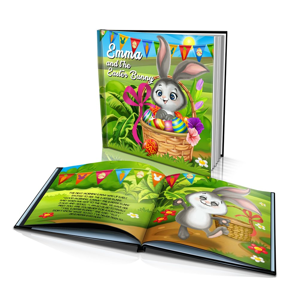 Large Hard Cover Story Book - Easter Bunny