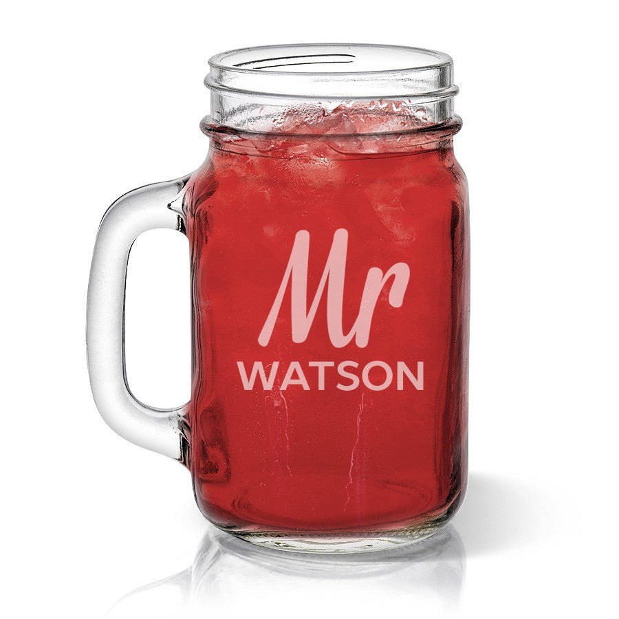 Mr Design Mason Jar