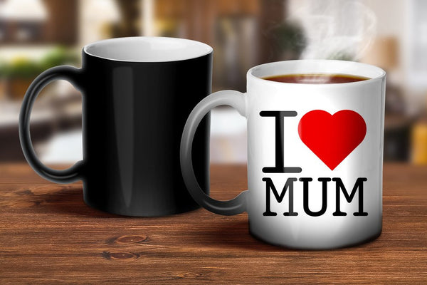 I Love Mum Magic Mug