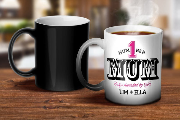 Number 1 Mum Magic Mug