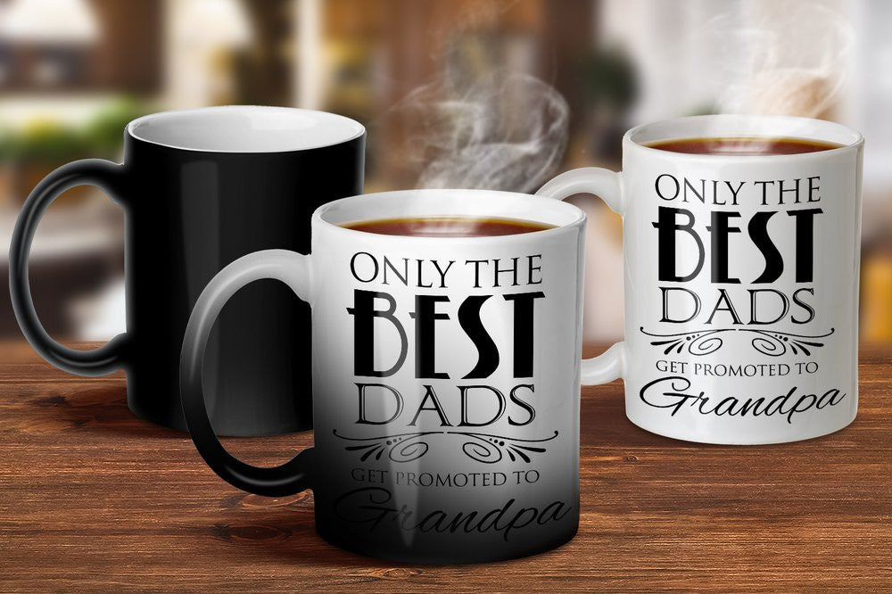 Promoted to Grandpa Magic Mug