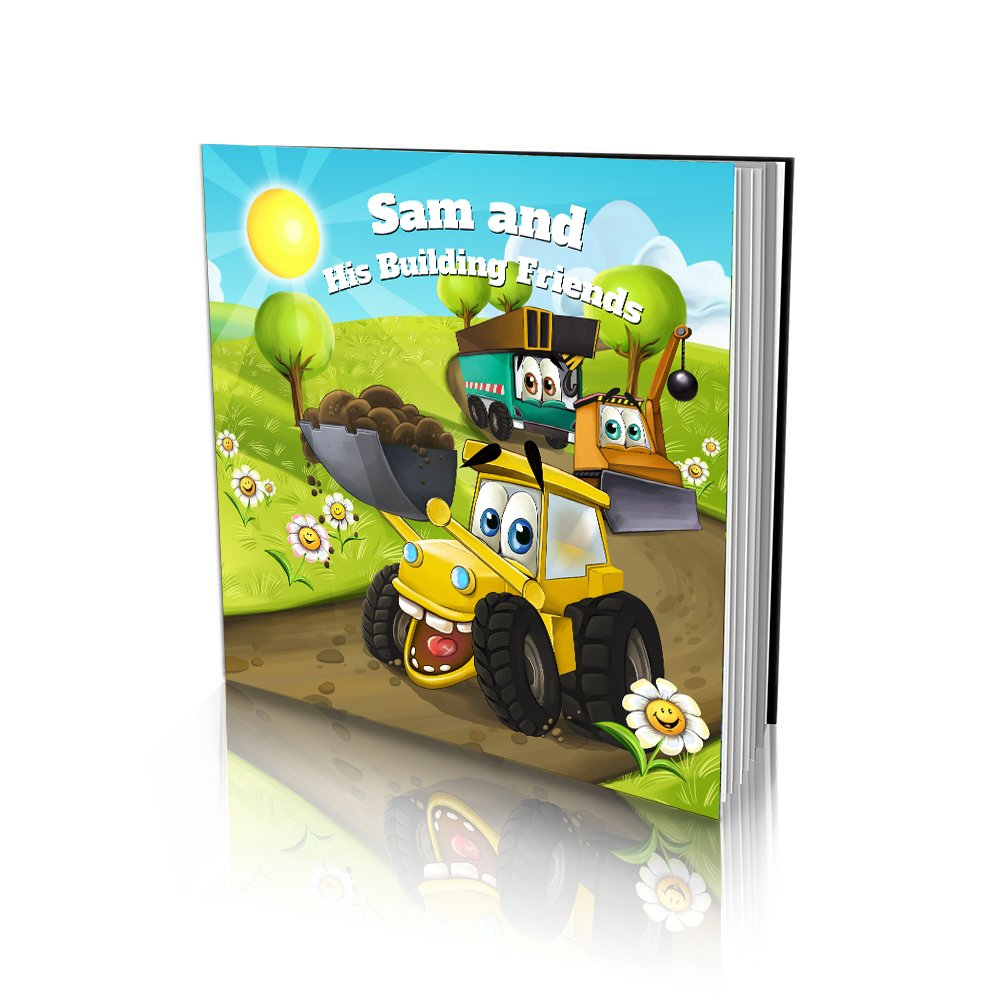 Large Soft Cover Story Book - Construction Friends
