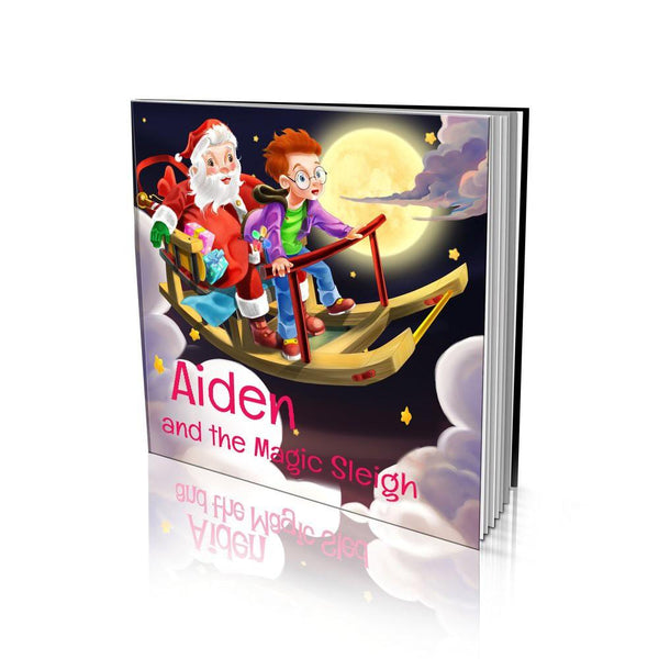 Large Soft Cover Story Book - The Magic Sleigh