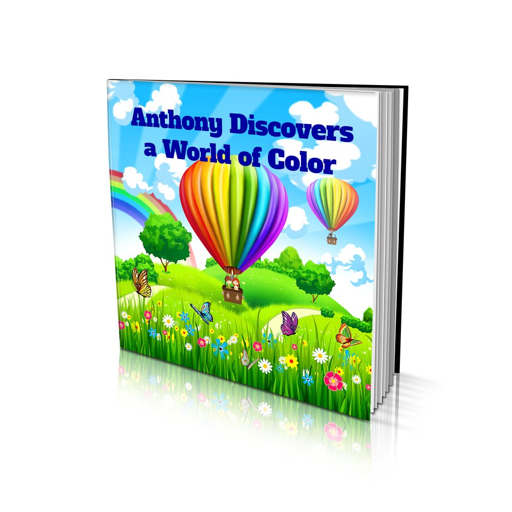 Large Soft Cover Story Book - Discovers a World of Colour