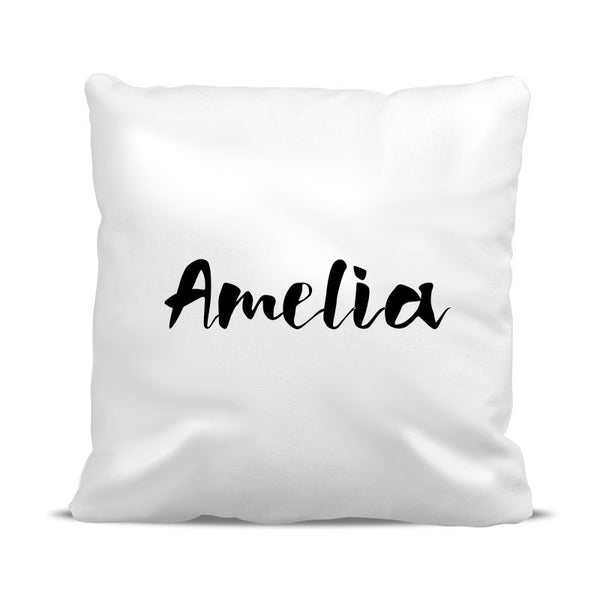 Name Classic Cushion Cover