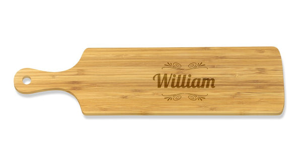 Name Long Bamboo Serving Board