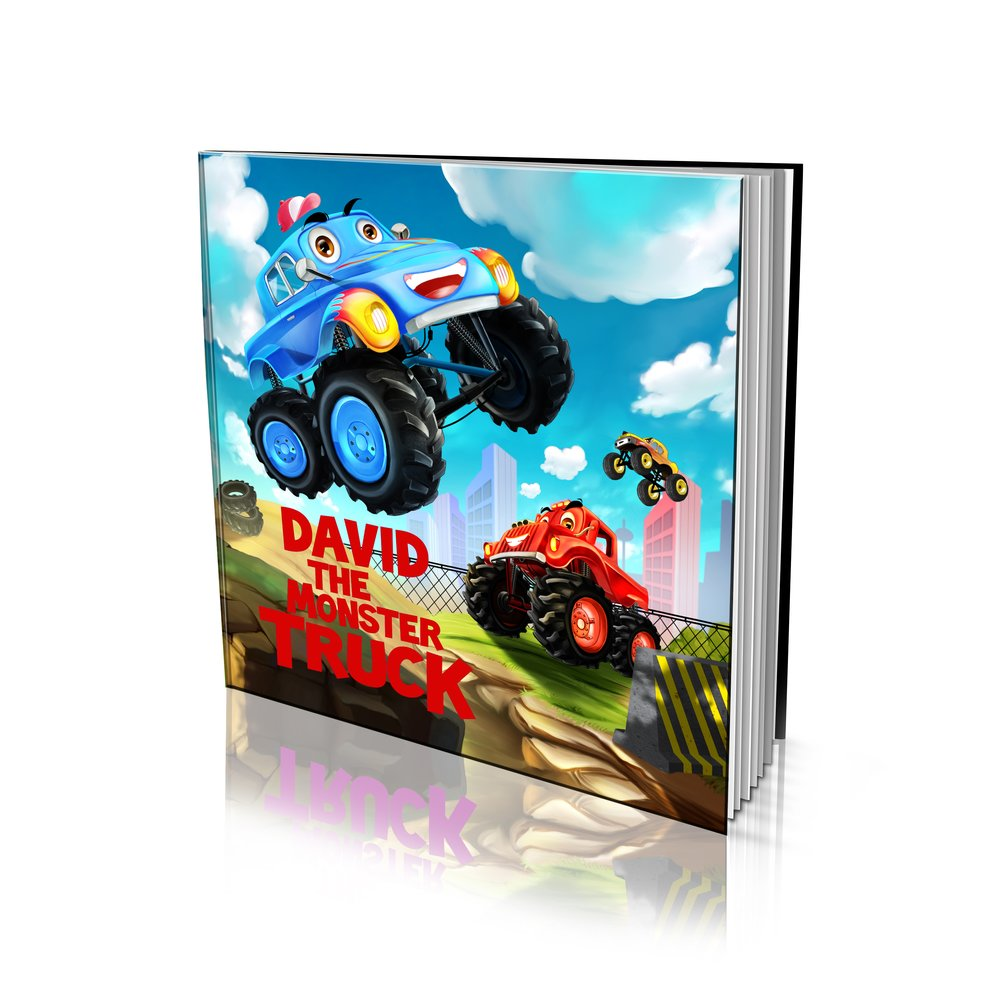 Large Soft Cover Story Book - The Monster Truck