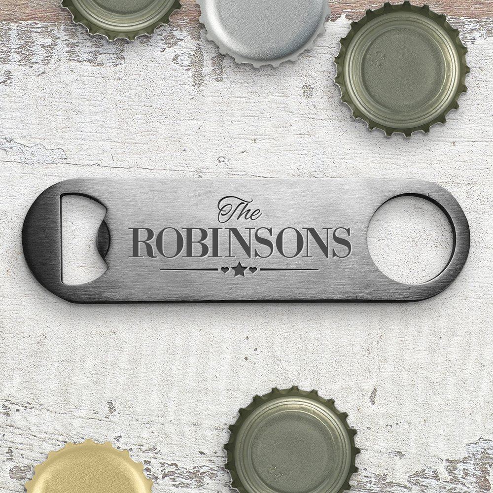 Family Engraved Bottle Opener