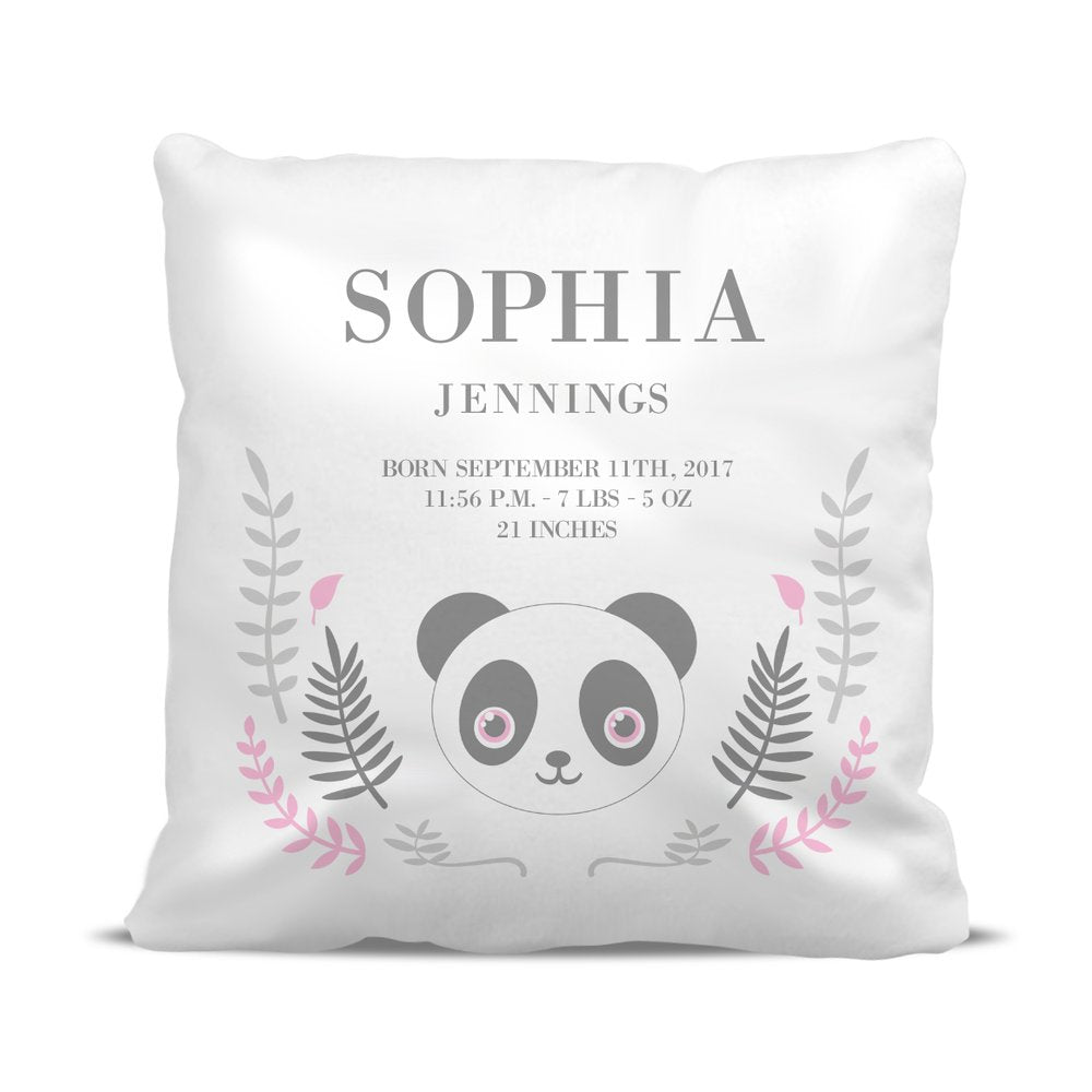 Panda Birth Classic Cushion Cover