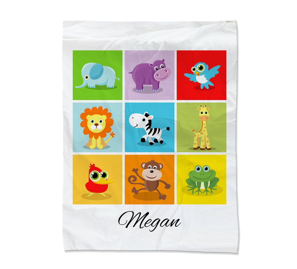 Baby Collage Blanket - Small