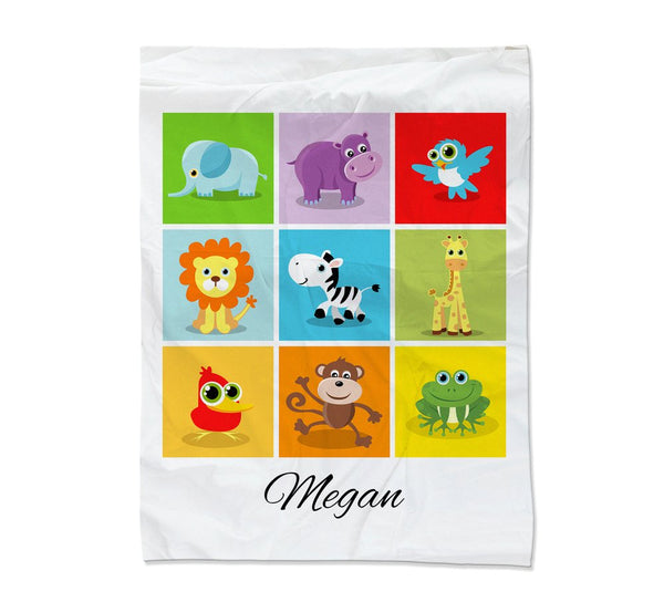 Baby Collage Blanket - Medium