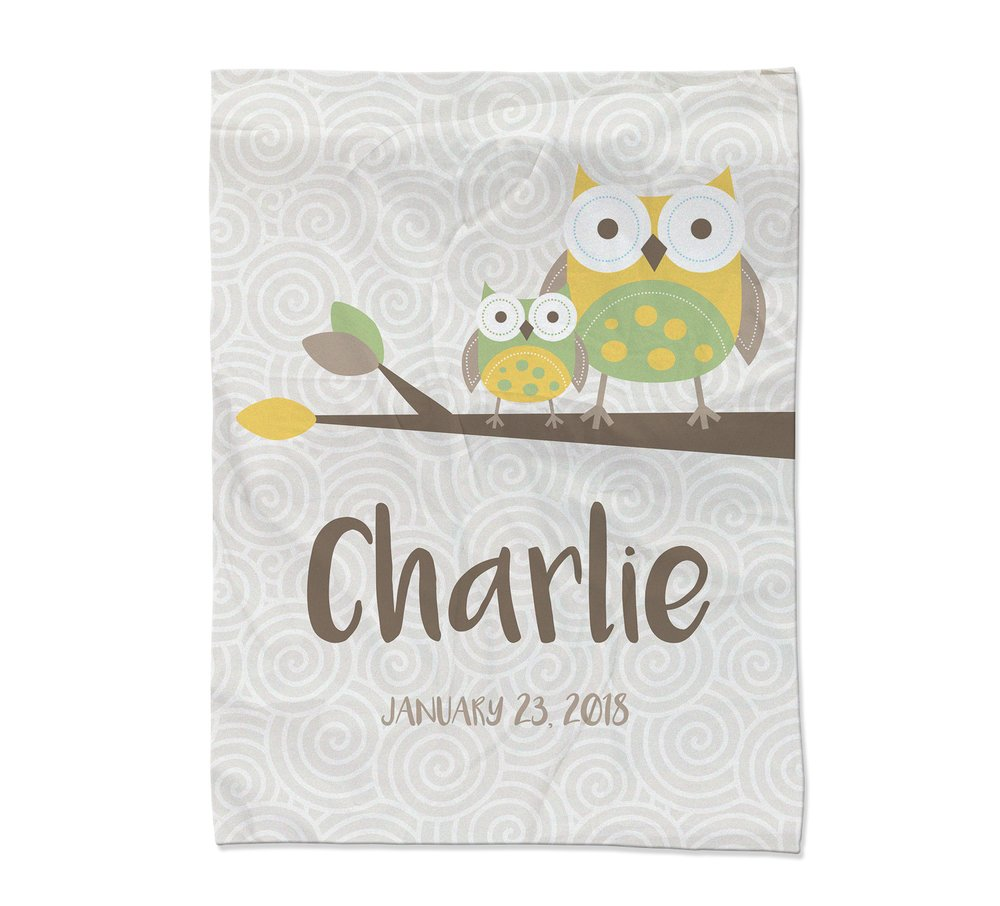 Owl Blanket - Large (Temporary Out of Stock)