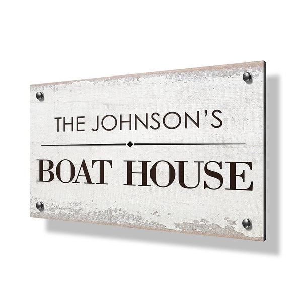 Boat House Business & Property Sign - 30x20""