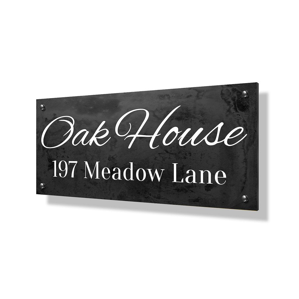 Oak House Business & Property Sign - 40x20""