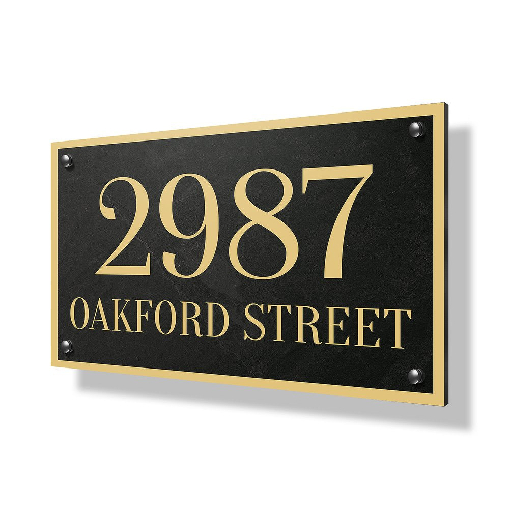 Oakford Street Business & Property Sign - 30x20""