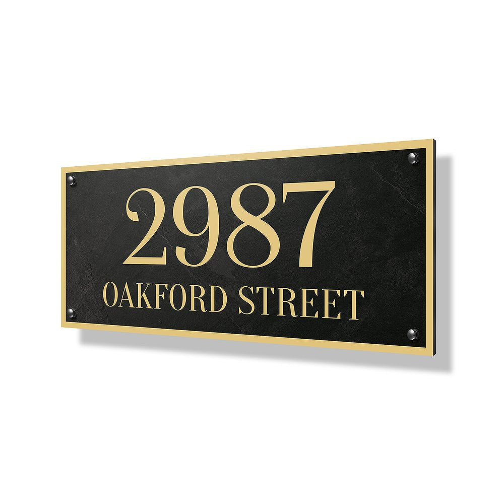 Oakford Street Business & Property Sign - 24x12""