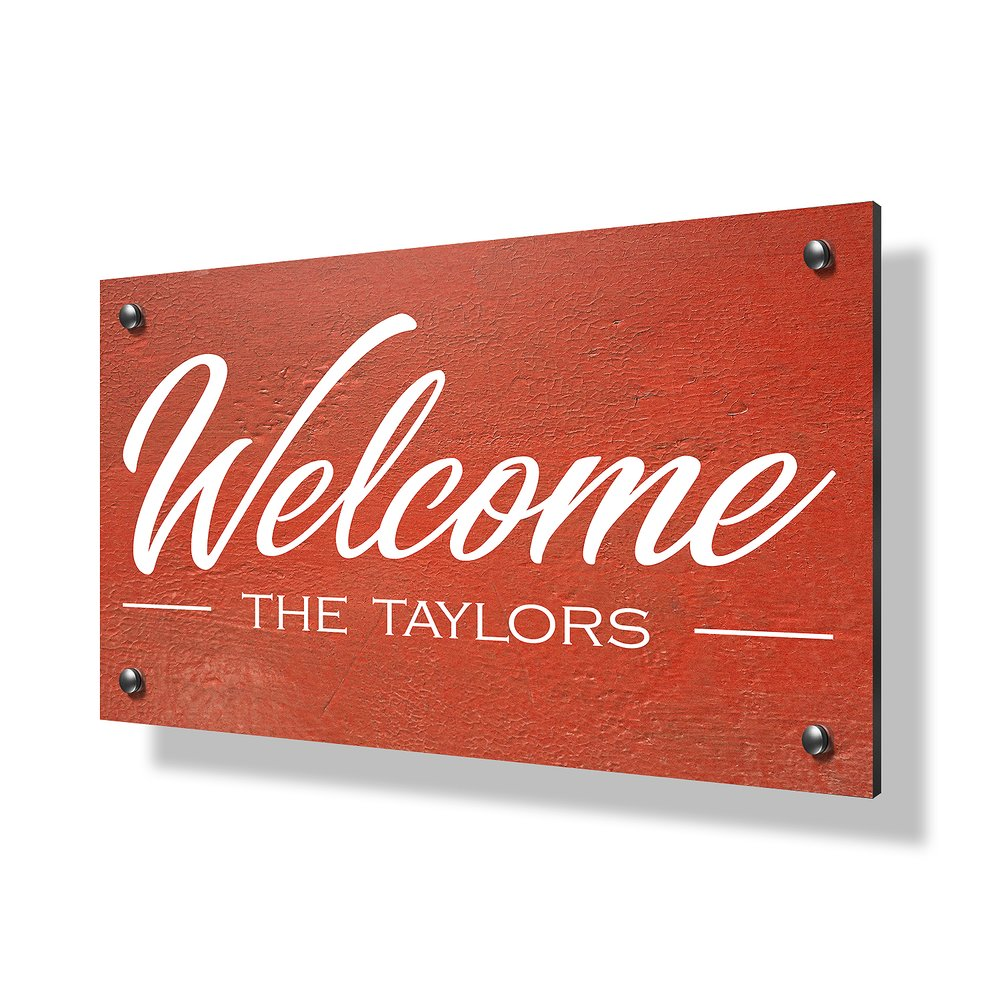 Welcome Business & Property Sign - 30x20""