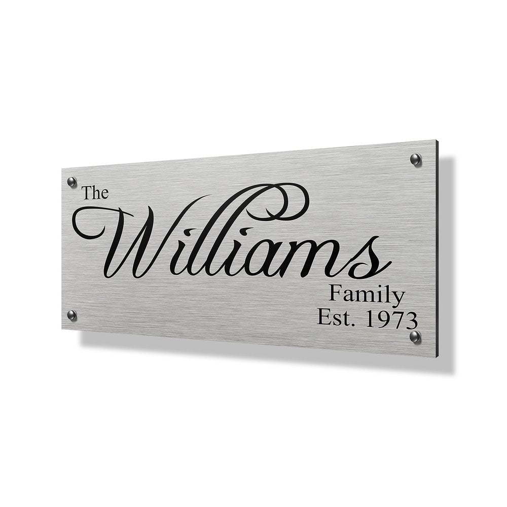 Williams Business & Property Sign - 40x20""