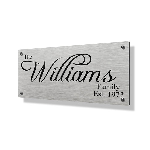 Williams Business & Property Sign - 24x12""