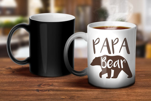 Papa Bear Magic Mug