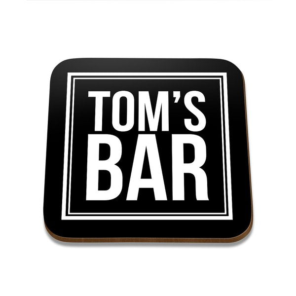 Tom's Bar Square Coaster - Single