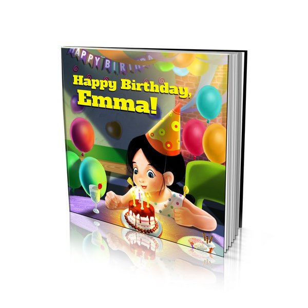 Happy Birthday Large Soft Cover Story Book