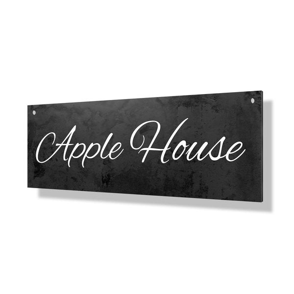 Blackboard Property Sign - 24x8""