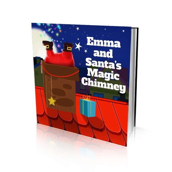 Large Soft Cover Story Book - Santa's Magic Chimney