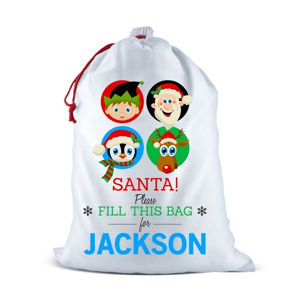 Fill This Bag Santa Sack
