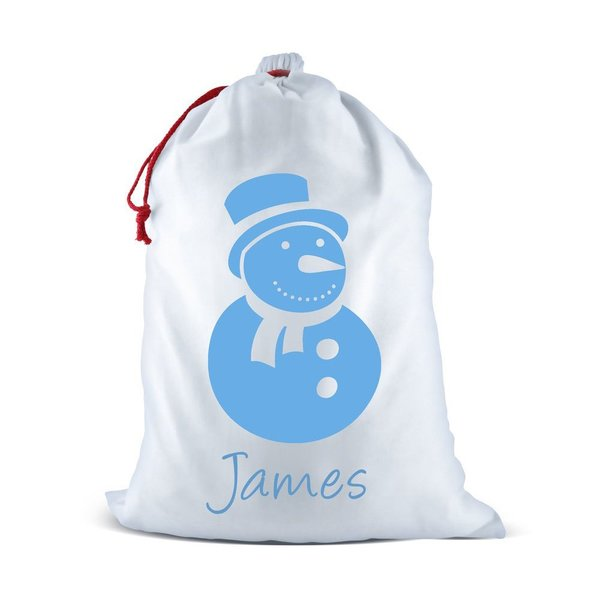 Snowman Santa Sack (Temporary Out of Stock)