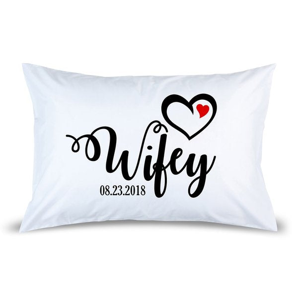 Wifey Pillow Case