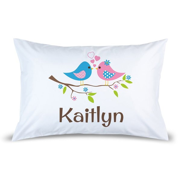 Two Birds Pillow Case