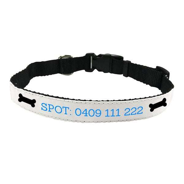 Bone Pet Collar - Small