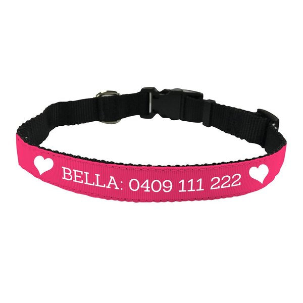 Heart Pet Collar - Medium