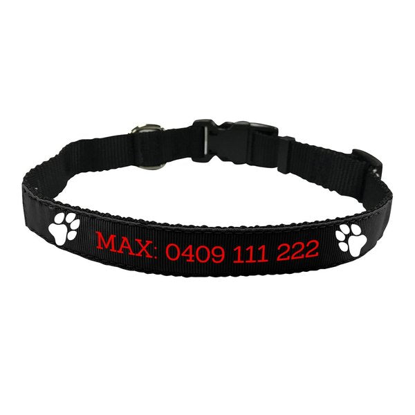 Paw Pet Collar - Medium