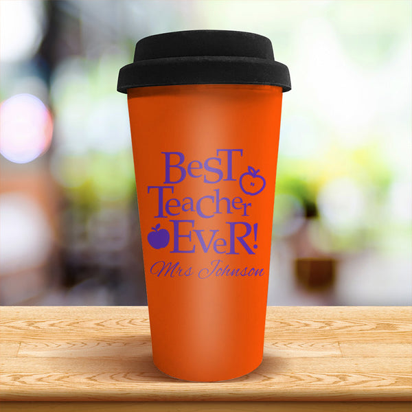 Best Teacher Travel Cup
