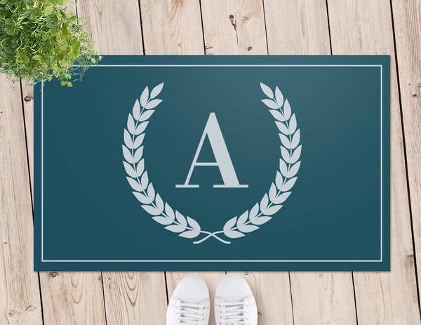 Crest Door Mat (Temporary Out of Stock)