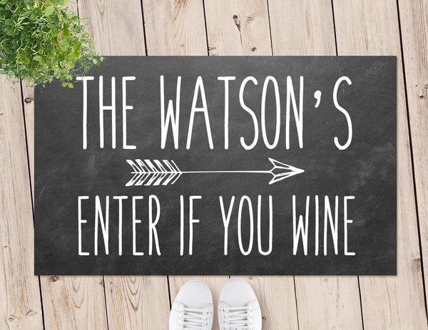 Wine Door Mat (Temporary Out of Stock)