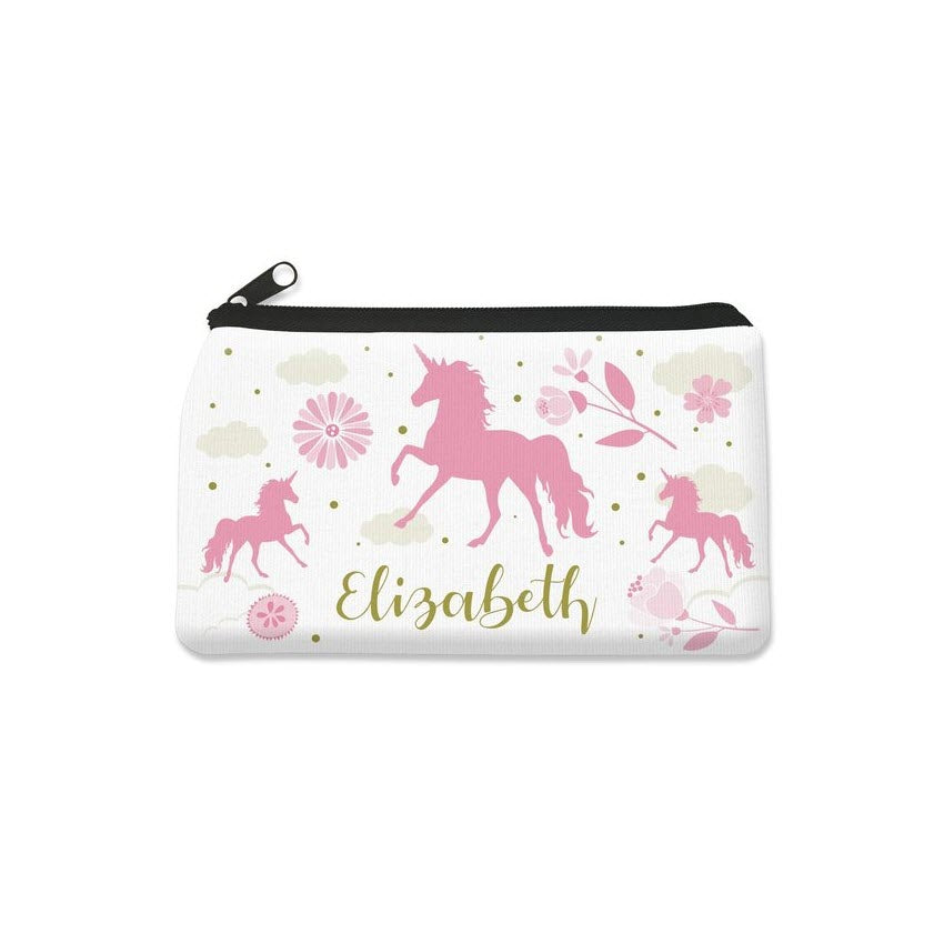 Pink Unicorn Pencil Case - Small