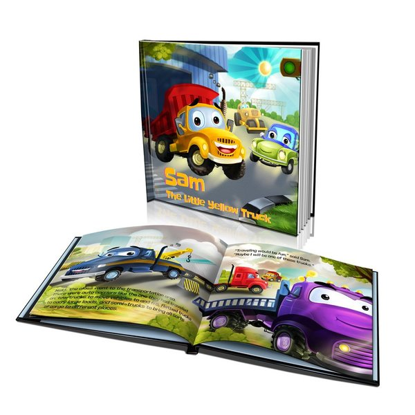 The Little Yellow Truck Hard Cover Story Book