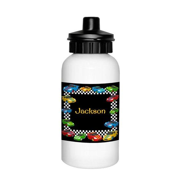 Race Cars Drink Bottle