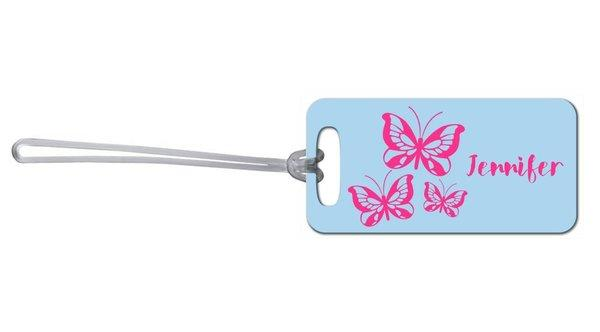 Butterflies Bag Tag