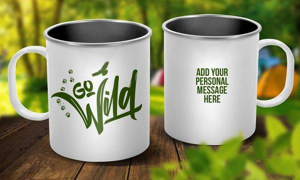 Go Wild Outdoor Mug