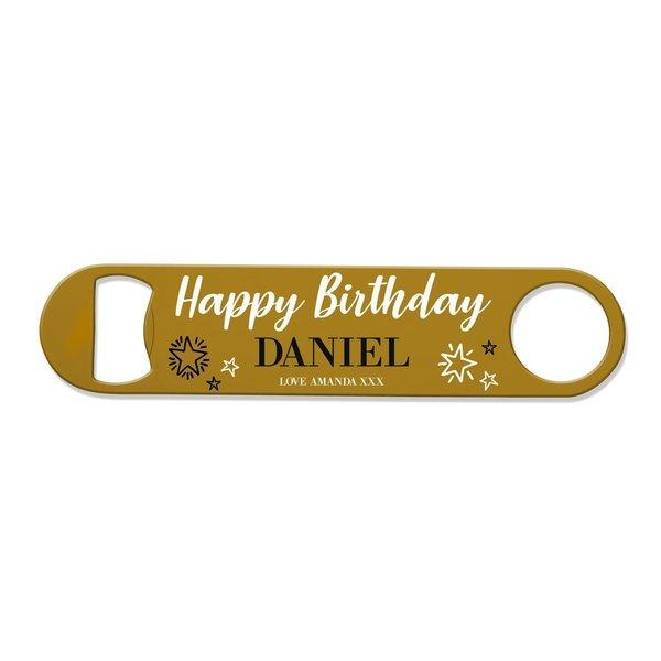 Happy Birthday Bottle Opener