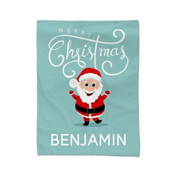 Jolly Santa Blanket - Small