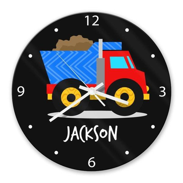Truck Glass Clock