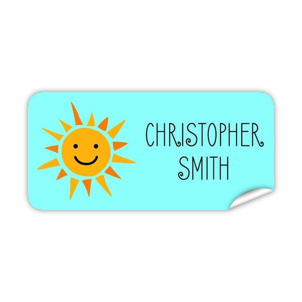 Sunshine Rectangle Labels 48pk
