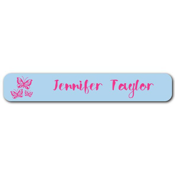 Butterflies Mini Name Labels 78pk (Temporary Out of Stock)
